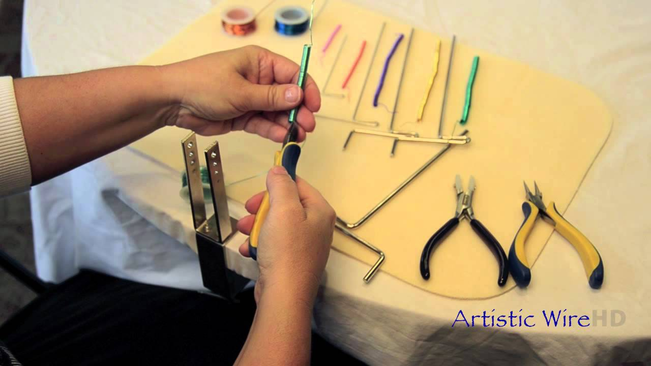 Artistic Wire Coiling Gizmo - YouTube