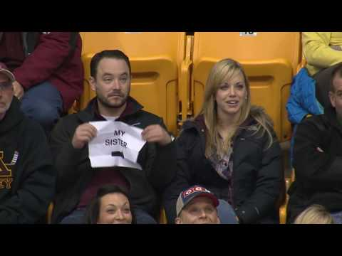 Thumbnail: Guy Pulls Out Sign on Gophers Kiss Cam