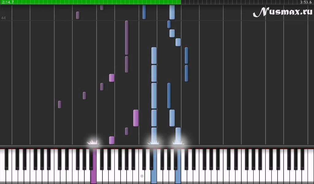 Piano immortals piano sheet music : Evanescence - My immortal Piano Tutorial (Synthesia + Sheets + ...
