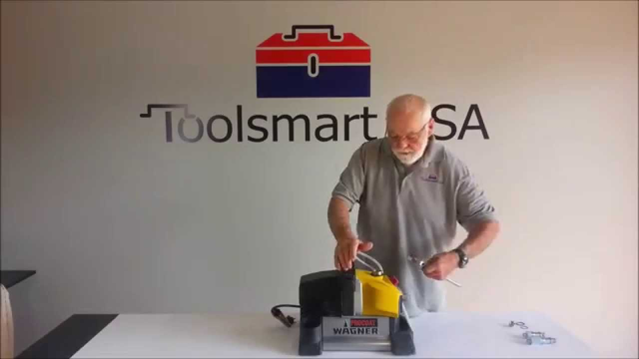 Wagner Procoat Inlet and Outlet Valve Repair with ToolsmartUSA com