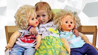 БОЛЬШИЕ КУКЛЫ пьют чай у Сони и ОТКРЫВАЮТ СЮРПРИЗЫ Видео для девочек - HUGE DOLLS open Surprise Toys