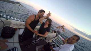 Salsa on a Boat