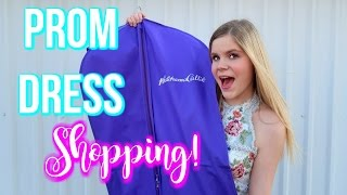 PROM DRESS SHOPPING 2017! Sherri Hill | Our first VLOG!!!