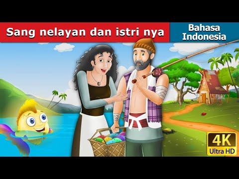 Sang nelayan dan istri nya   Fisherman and His Wife   Dongeng anak   Indonesian Fairy Tales