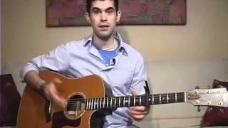 """""""Stronger"""" Acoustic Guitar Lesson (Hillsong)"""