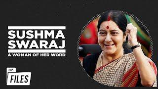 Sushma Swaraj: Fiesty Leader, Friendly Minister | Rare Interviews | Crux Files