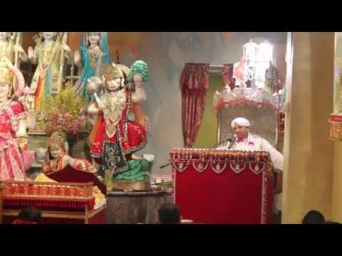 Pandit Chunelall - Katha on Durga Maa - Vasant Navraatri 2015