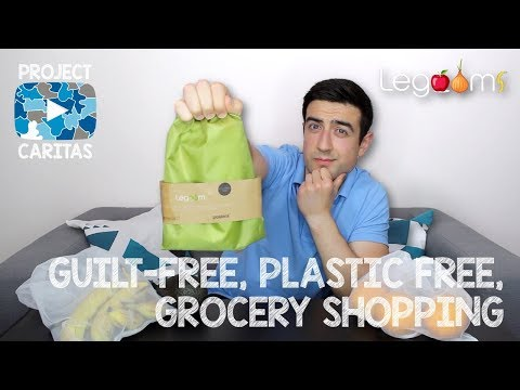 Reusable Produce Bags | Made From Recycled Bottles | Machine