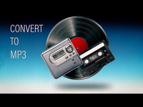 Copy Vinyl Record, Tape And MiniDisc To PC MP3 Using Audacity And Zynewave Podium