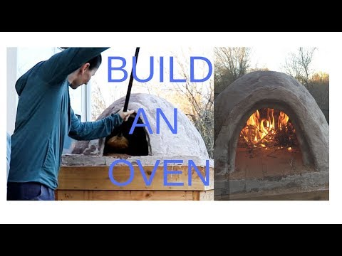 How to Build an Outdoor Wood Fired Oven