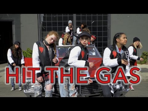 Raven Felix - Hit the Gas feat. Snoop Dogg & Nef the Pharoah | #HitTheGasDanceOn - Suga N Spice Crew