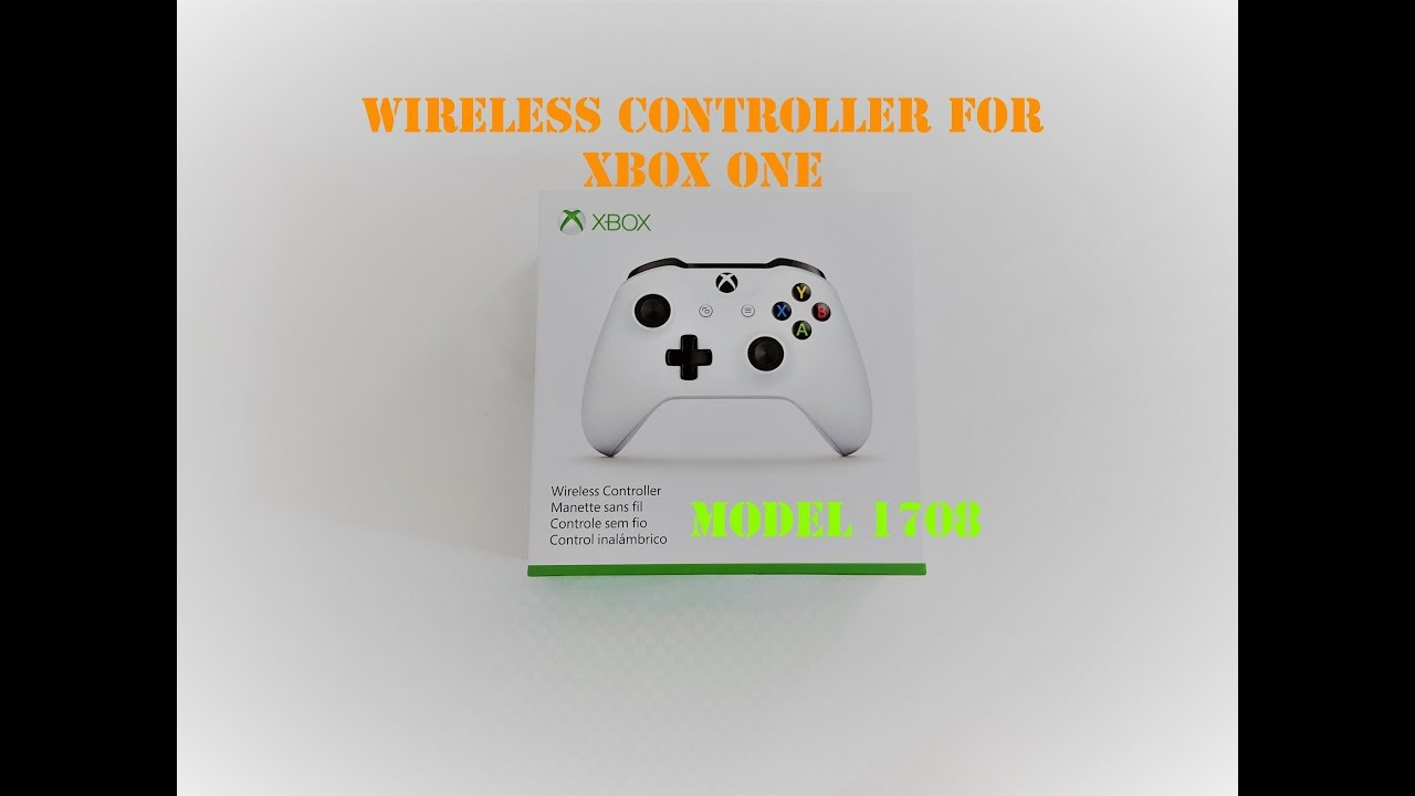Wireless controller for xbox one model 1708 for windows - Unbox & Review