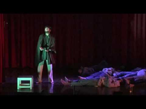 """Theatre Lab's  stage play  """"DOSTOYEVSKY'S SHADOWS"""" in Tamil."""