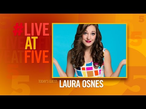 Broadway.com #LiveatFive with Laura Osnes