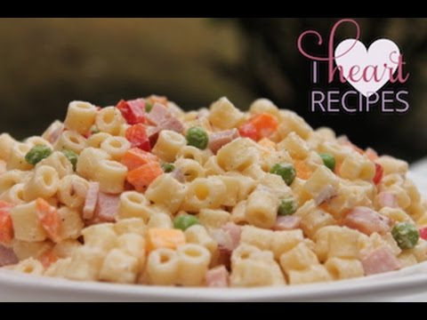Summer Pasta Salad Recipe I Heart Recipes