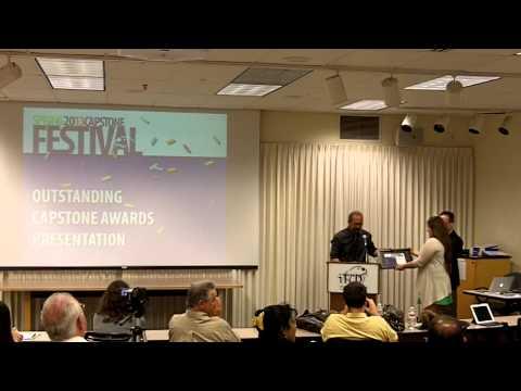 Outstanding Capstone Awards Presentation