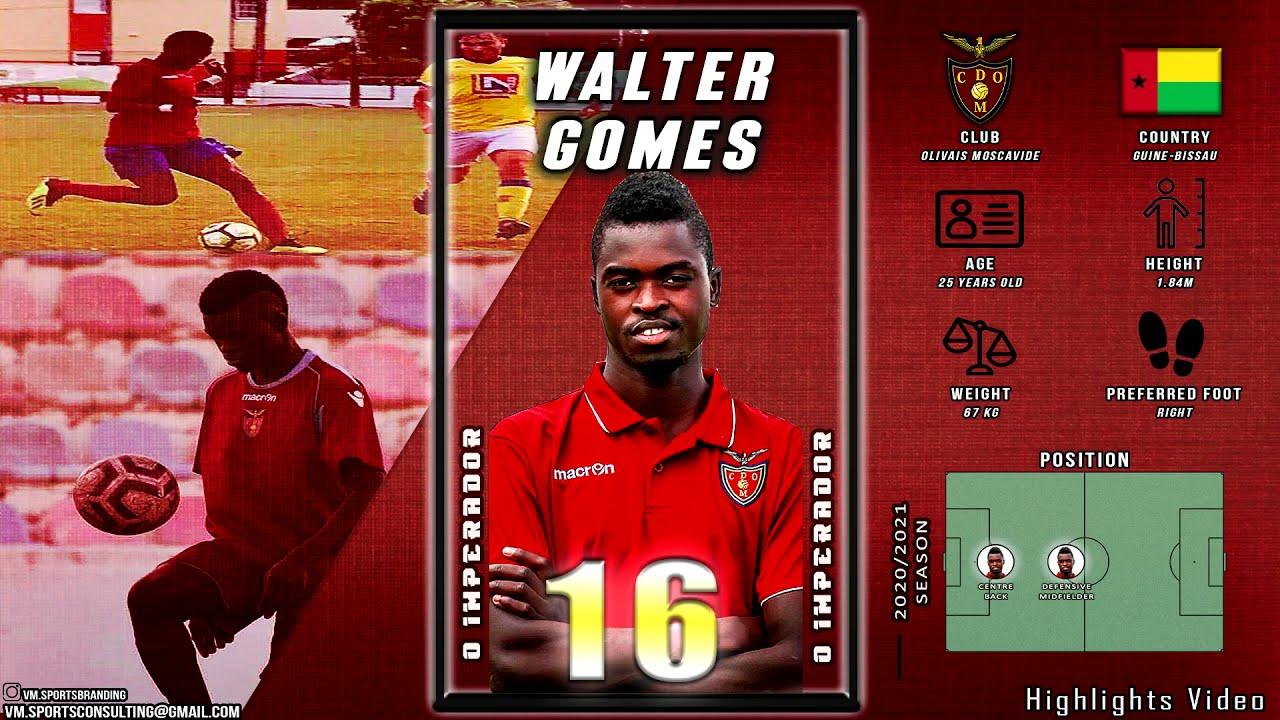 Walter Gomes - Highlights Video (2020/2021 Season)