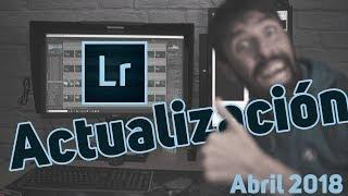Actualización Lightroom Classic CC 7.3 (Abril 2018)