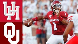 Houston vs #4 Oklahoma Highlights | NCAAF Week 1 | College Football Highlights