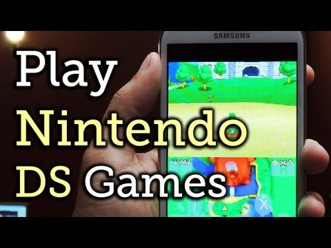 DraStic ds emulator android download tutorial (BIOS INCLUDED