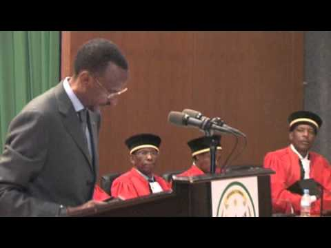 Ceremony to Launch the Judicial Year 2011-2012 | Part III