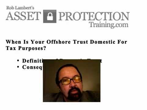 when Offshore Trust Domestic Tax purposes 3520