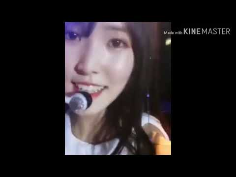 Yuju Record Herself With Fan's Phone at Jakarta (Indonesia)