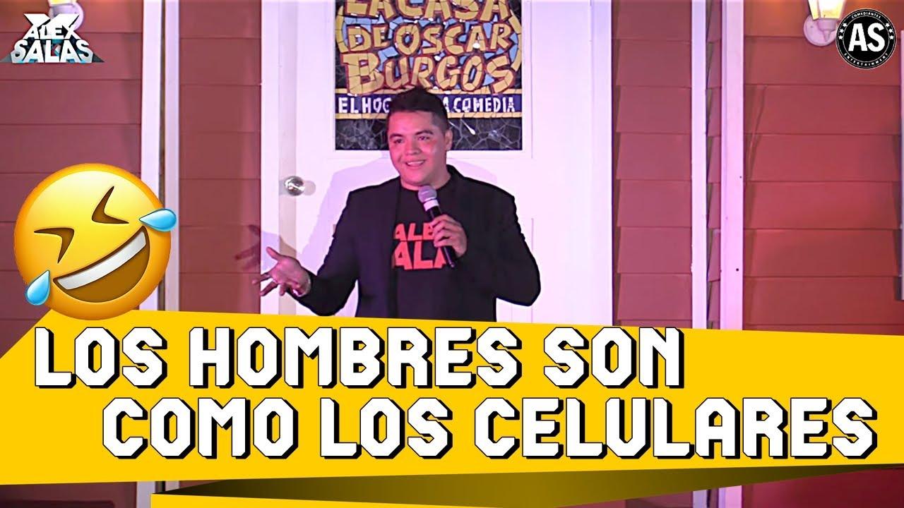 Los Hombres Son Como Los Celulares | Alex Salas - Stand Up Comedy Mexico 2020