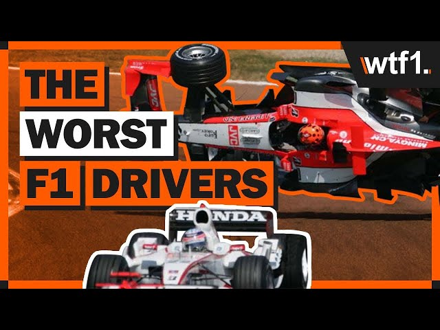 7 F1 Drivers That Were SO Bad They'll Never Be Forgotten