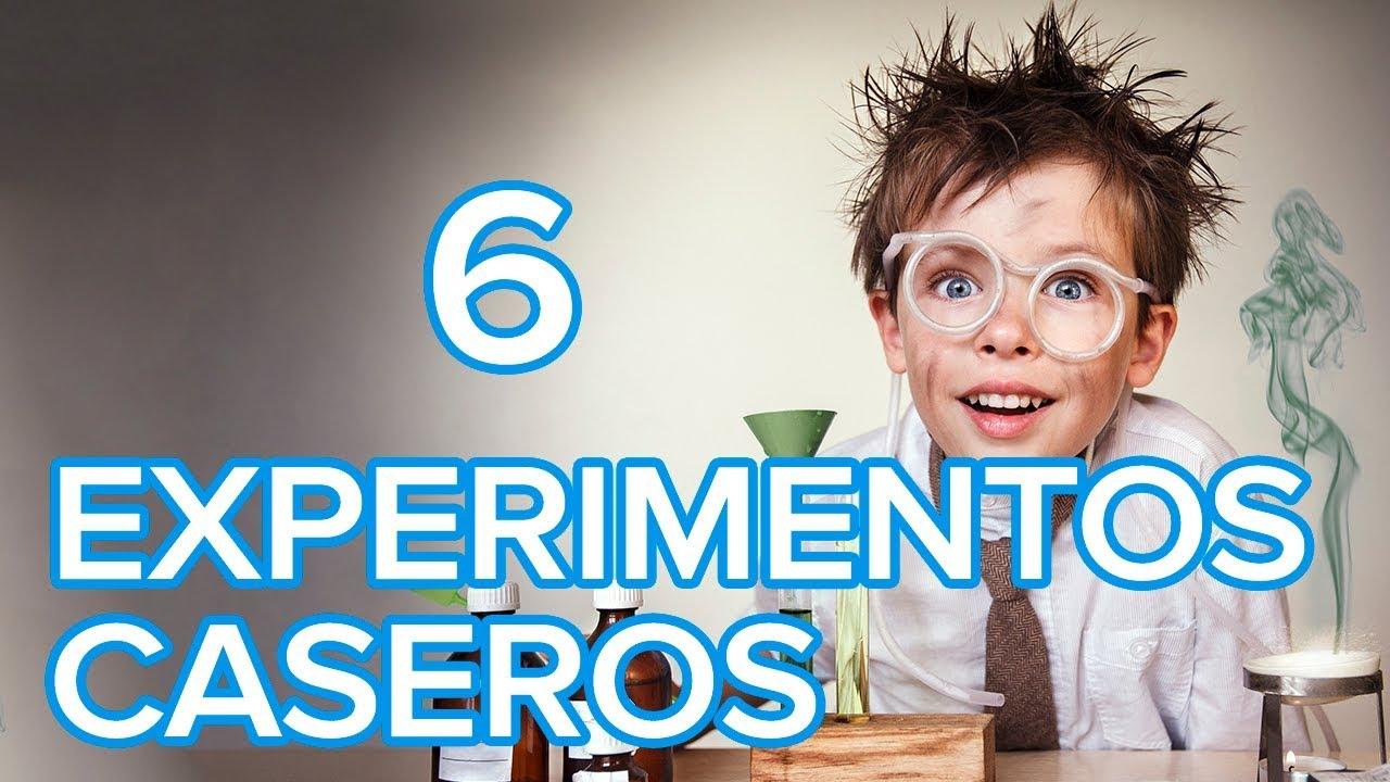 6 experimentos caseros para hacer con los niños | Ciencia divertida para niños