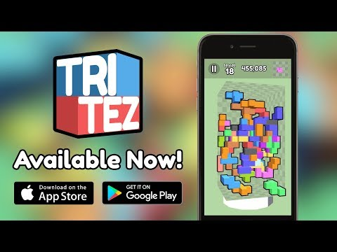 Tritez - Release Trailer - Mobile Game (iOS, Android)