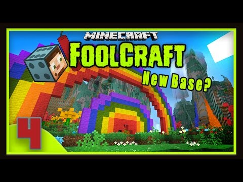 Modded Minecraft - FoolCraft Part 4: New Base Location For The UFO?