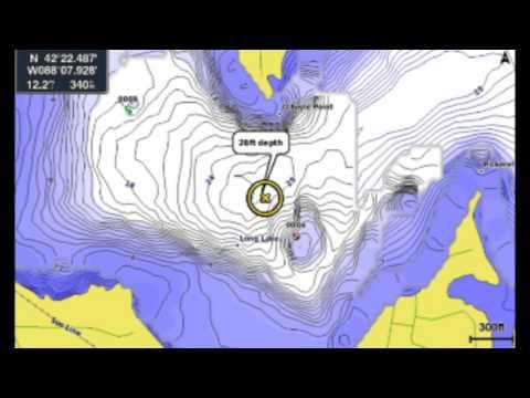 Garmin Quickdraw mapping Echomap 73DV  part 1