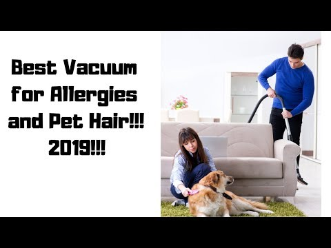 Best Vacuum for Allergies and Pet Hair!! 2019!!