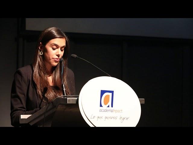 Discurso Valentina Meriño, alumna Diplomado en Coaching Integral ICI, en nuestra Graduación 2018