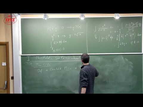 [1/5] Bertrand Eynard (2018) Riemann surfaces