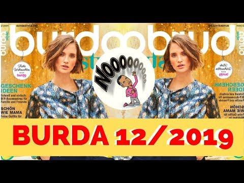 Burda 12/2019 Sewing Magazine Browsethrough