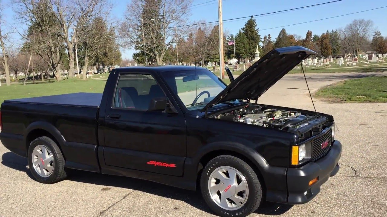 1991 Gmc Syclone Sonoma S10 Only 7 000 Miles    4 3l Turbo Awd Stunning