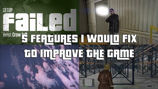 GTA Online 5 More Features I Would Add To Make The Game Better