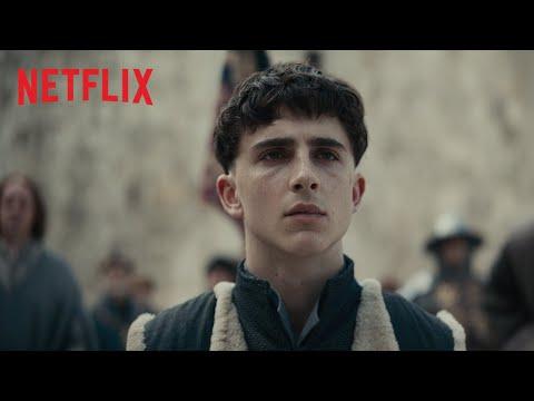 The King - Timothée Chalamet | Officiële teaser | Netflix-film