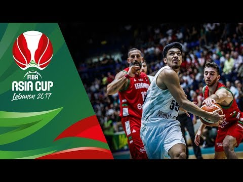 HIGHLIGHTS: New Zealand vs. Lebanon (VIDEO) FIBA Asia Cup 2017 | August 10