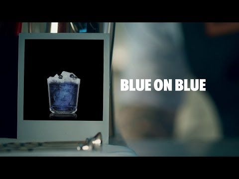 How To Make An Absolut Blue On Blue Cocktail | Recipe