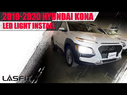 2019 2020 Hyundai Kona | How to install LED headlight turn signal brake tail light