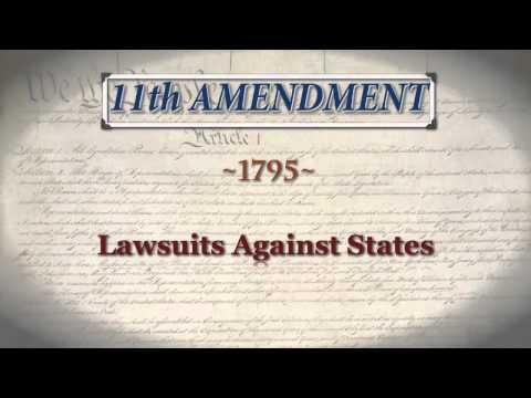 Amendments 11-18 | Principles of the Constitution