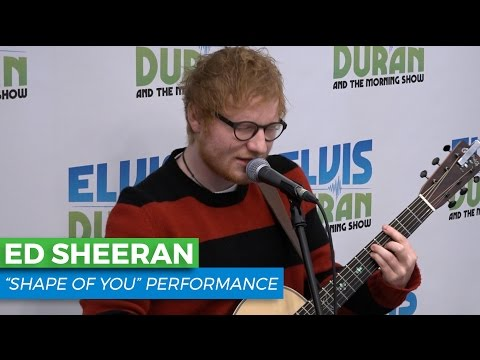 "Ed Sheeran - ""Shape of You"" Acoustic 