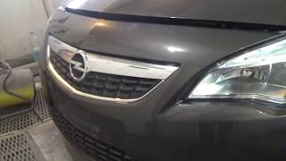 Как снять-поставить передний бампер, Opel Astra J, GTC.