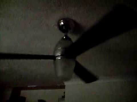 Ceiling fan in slow motion at max speed youtube ceiling fan in slow motion at max speed mozeypictures Images