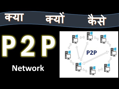 Simple Meaning of P2P Network.