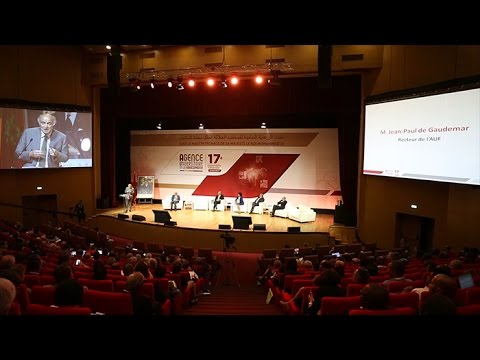 Cérémonie d'ouverture de la 17e Assemblée générale de l'AUF.