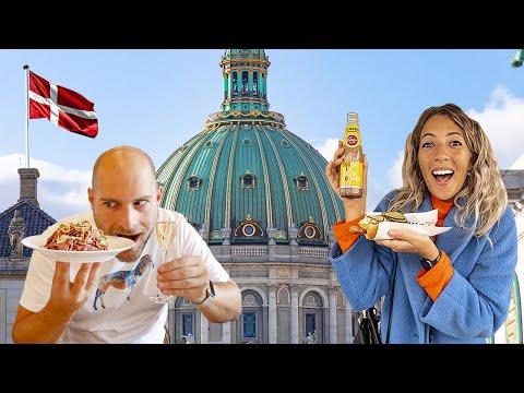 Eating REAL Danish Food in Copenhagen   MUST-EAT Food in Denmark 🇩🇰